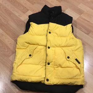 Men's Ralph Lauren Polo Puffy Vest - Yellow